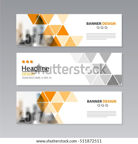 banner business layout template vector design. #511872511