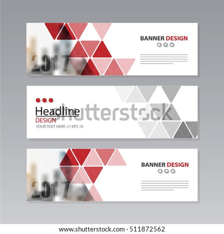 banner business layout template vector design. #511872562