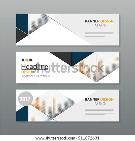 banner business layout template vector design. #511872631