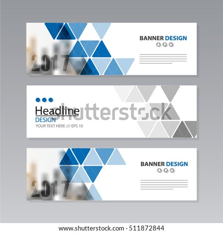 banner business layout template vector design. #511872844