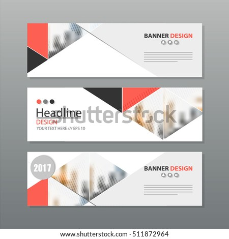 banner business layout template vector design. #511872964