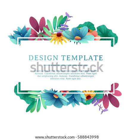 banner design template with