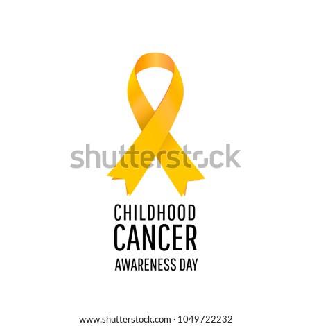banner for childhood cancer