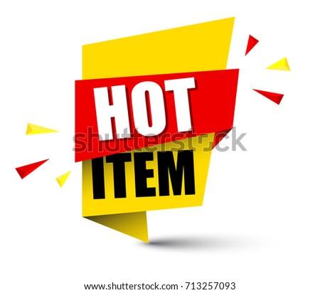 banner hot item