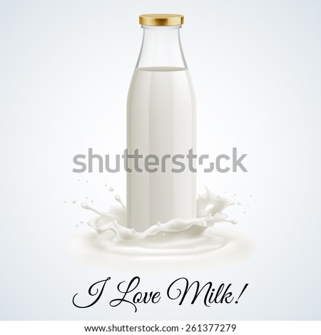 banner i love milk closed