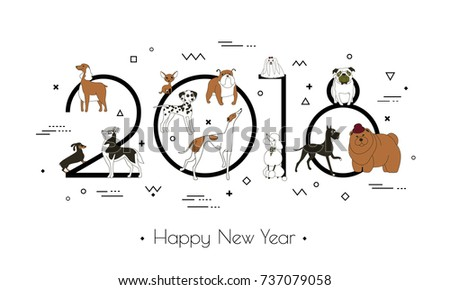 banner in breeds of dogs