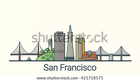 banner of san francisco city in