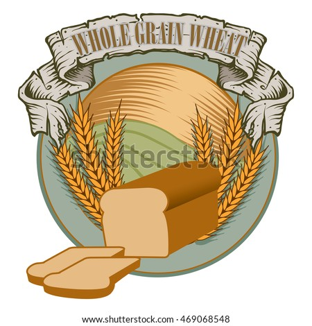 Banner of Whole wheat grain bread and Grains