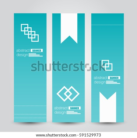 abstract colorful roll up banner template design download free