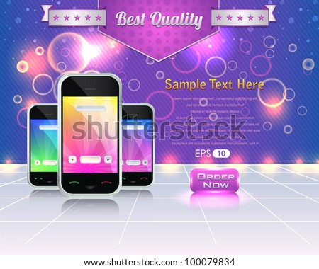 Banner Template Vector Design - stock vector