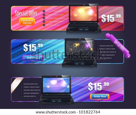 Banner Template Vector Design