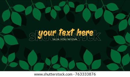 banner vector template frame
