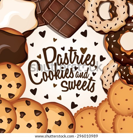 banner with cookies with