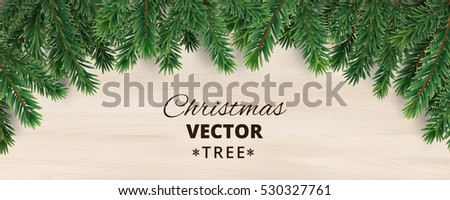 banner with vector christmas