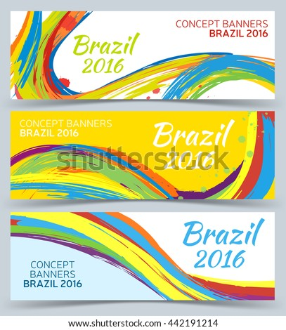 banners set  vector template