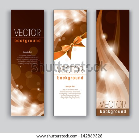 banners vector backgrounds
