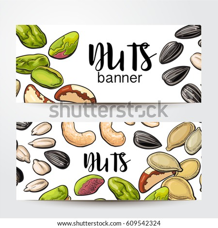 banners with cashew  sunflower