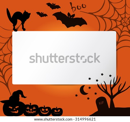 banners with halloween vector