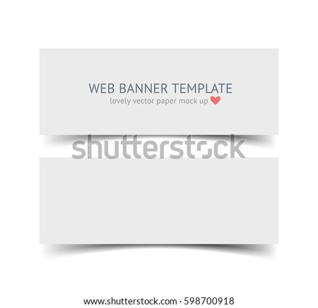 paper banner template