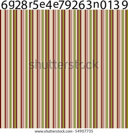 barcode vector art. stock vector : ar code green