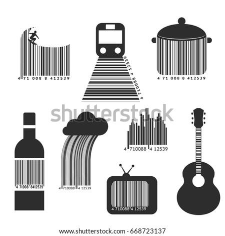 bar codes collection