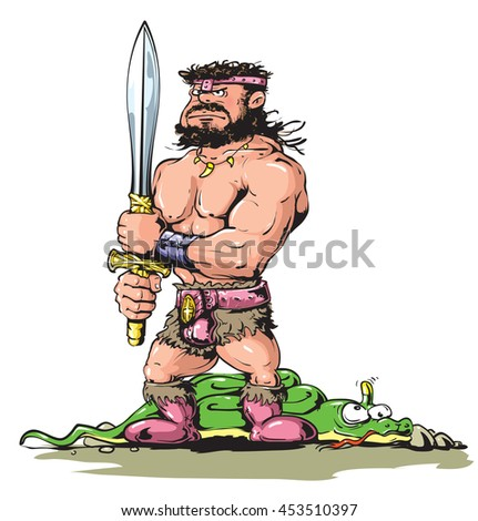 barbarian warrior