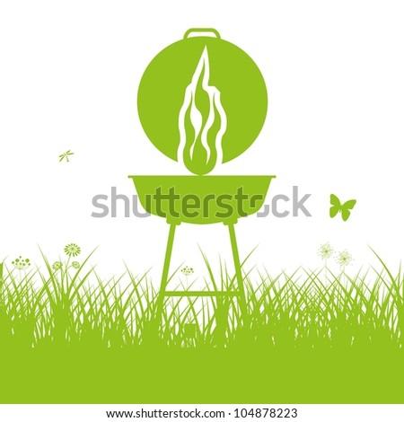 Barbecue BBQ Silhouette