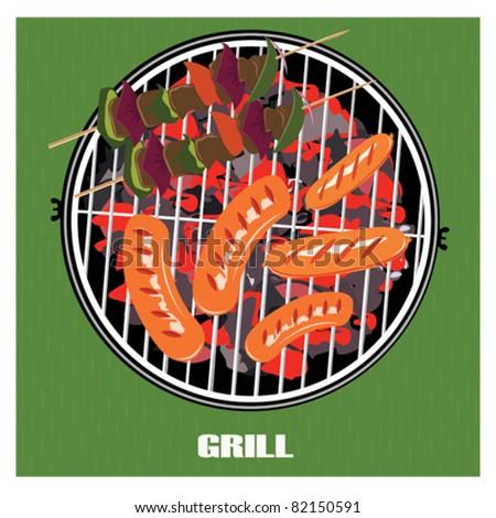 Barbecue, vector illustration