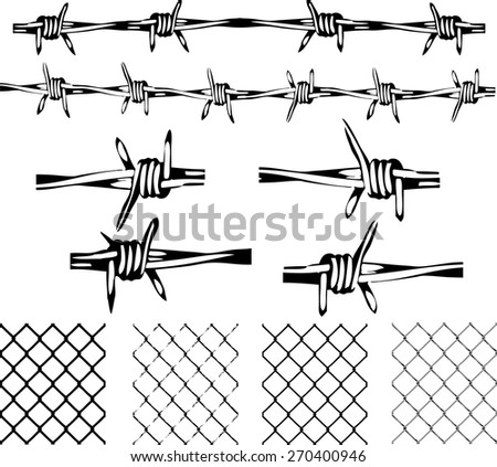 Vector Barbed Wire Boot - World Wide Clip Art Website •