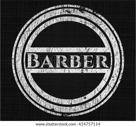 Barber chalk emblem