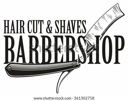 Barber Terms : Barber Shop Logo Stock Vector 361302758 : Shutterstock