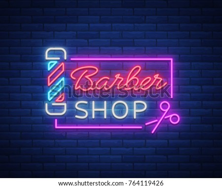 Attractive Barber Shop Logo Template - Download Free Vector Art, Stock  EL16