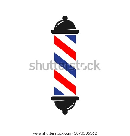 Barber Symbol. Barber shop icon. Hair service logo. Vector eps 10.