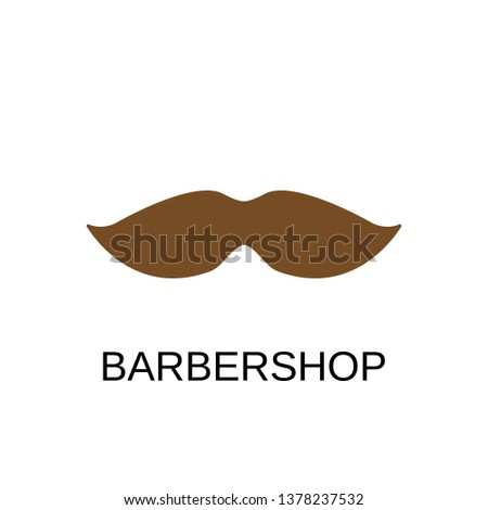 Barbershop icon. Barbershop symbol design. Stock - Vector illustration can be used for web