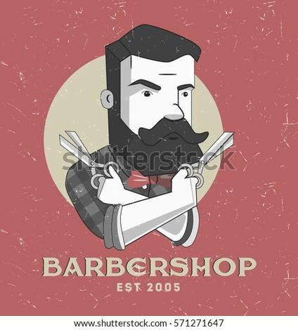 barbershop logo or poster...