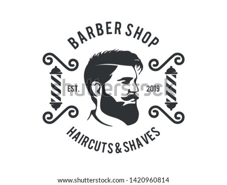 Barbershop Logo Vector design barbershop