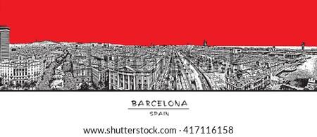 barcelona  spain horizontal
