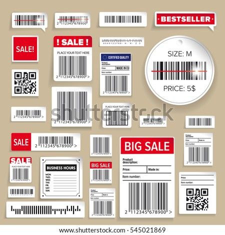 Barcode Packaging business Labels