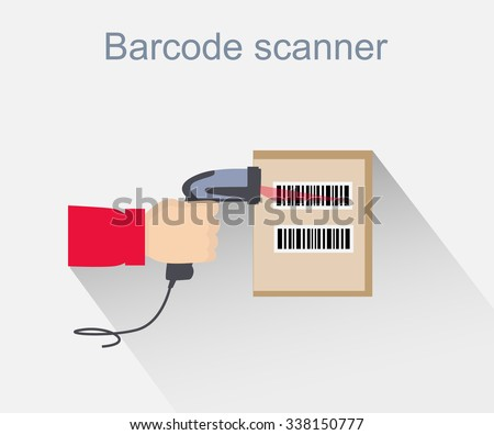 barcode scanner icon design