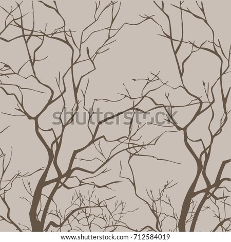bare tree branches   vector...