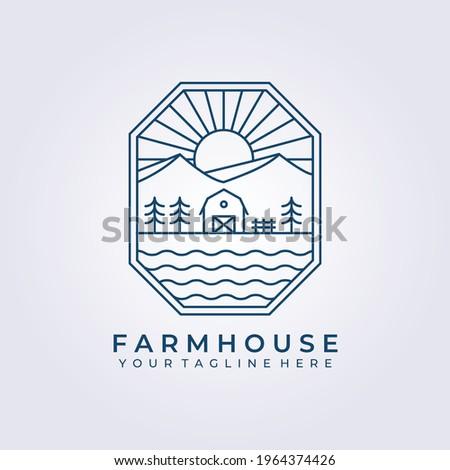 barn house evergreen farm land