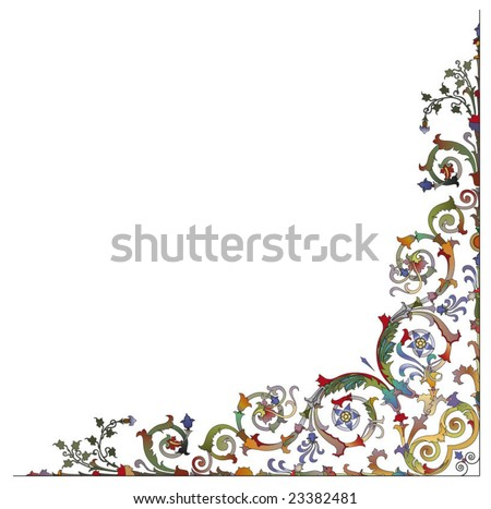 baroque ornamentation in the