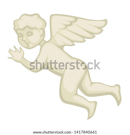 baroque style decor angel
