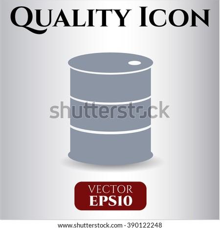 Barrel icon or symbol