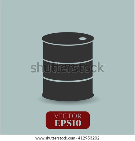 Barrel icon vector illustration