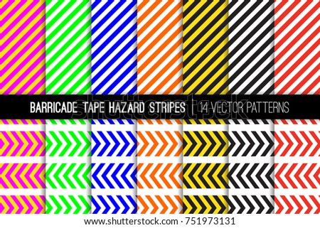 barricade tapes and hazard