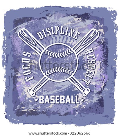 baseball abstract background