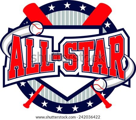 Baseball All-Star Logo