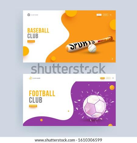 baseball and football club