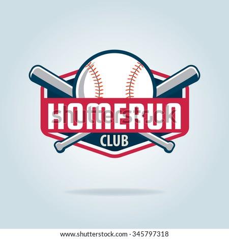 Baseball badge,sport logo,team identity,vector illustration